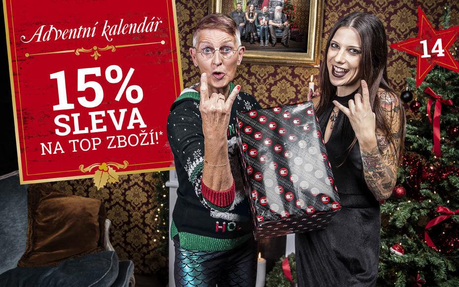 15% sleva na top zboží!*