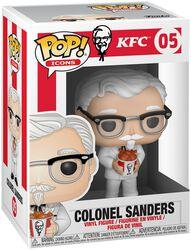 Kentucky Fried Chicken VInylová figurka č. 05 Colonel Sanders