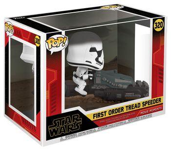 Vinylová figurka č. 320 Episode 9 - The Rise of Skywalker - First Order Tread Speeder (Movie Moments)