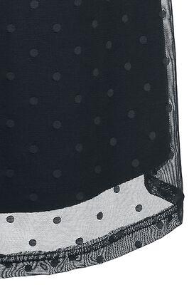 Šaty Black Dots