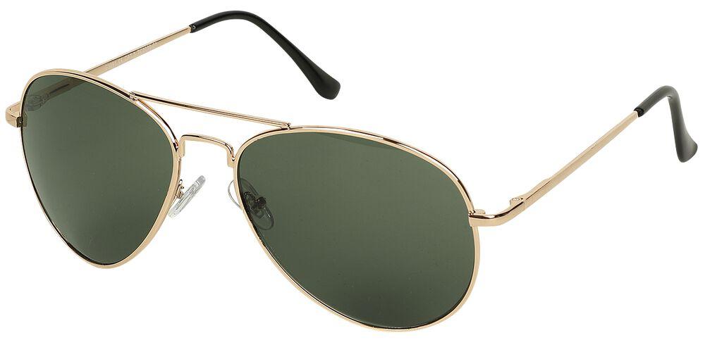 Letecké sluneční brýle Aviator Green