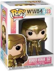 Vinylová figurka č. 323 Wonder Woman Golden Armor 1984