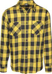 895cd3aa138 Flanelová kostkovaná košile