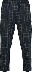 Cropped kalhoty s kostkovaným vzorem Formula