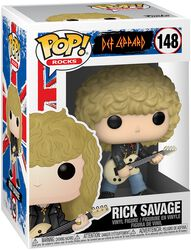Rick Savage Rocks Vinyl Figur 148
