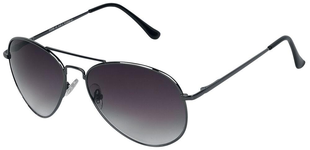 Letecké sluneční brýle Aviator Black