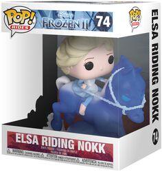 Vinylová figurka č. 74 Elsa Riding Nokk (Pop Rides)
