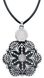 Tearbottle Mandala Flower Necklace