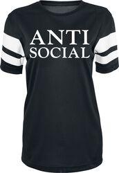 Dámské síťovinové tričko s proužky