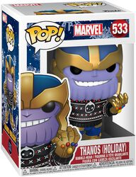 Vinylová figurka č. 533 Thanos (Holiday)