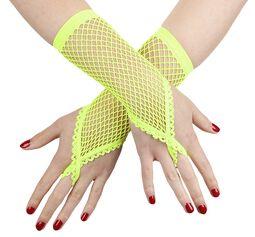Síťovinové rukavice s poutkem na prst