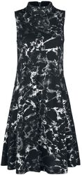 Šaty s vysokým límcem Silver Haze