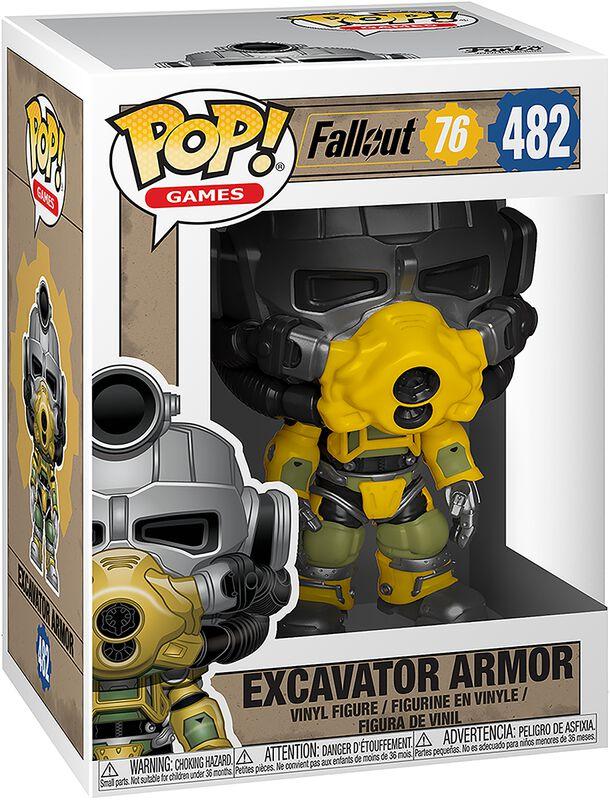 Vinylová figurka č. 482 Excavator Armor - 76
