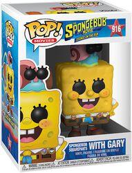 Vinylová figurka č. 916 Spongebob with Gary - 3