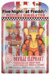 Akční figurka Pizza Simulator - Orville Elephant