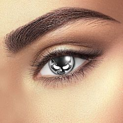 Kontaktní čočky Skull Eye