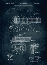 kytara Displate (Fender)
