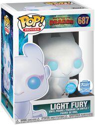 Vinylová figurka č. 687 Light Fury 3 (třpytivá) (Funko Shop Europe)