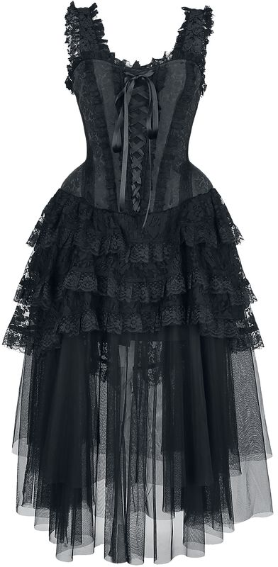 Gotické korzetové šaty