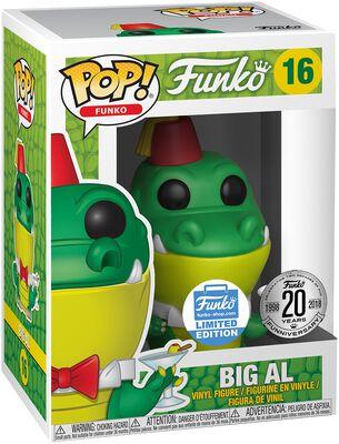 Vinylová figurka č. 16 Fantastik Plastik - Big Al (Funko Shop Europe)