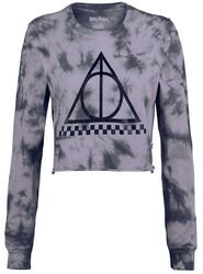 Krátká mikina Deathly Hallows LS Harry Potter