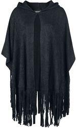 Plášť Black Tassle