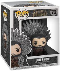 Vinylová figurka č. 72 Jon Snow Iron Throne (POP Deluxe)