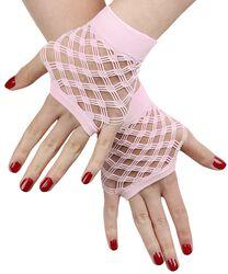Krátké síťovinové rukavice