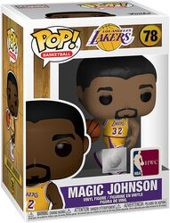 Vinylová figurka č. 78 LA Lakers - Magic Johnson