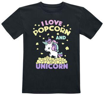 I Love Popcorn and Unicorn