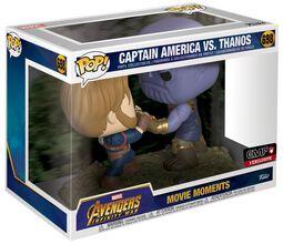 Vinylová figurka č. 698 Infinity War - Captain America vs Thanos (Movie Moments)