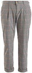 Dámské kostkované kalhoty