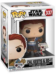 Vinylová figurka č. 337 Jedi: Fallen Order - Cal Kestis a BD-1