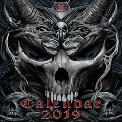 Nástěnný kalendář 2019
