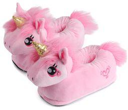Dětské pantofle Pink Unicorn