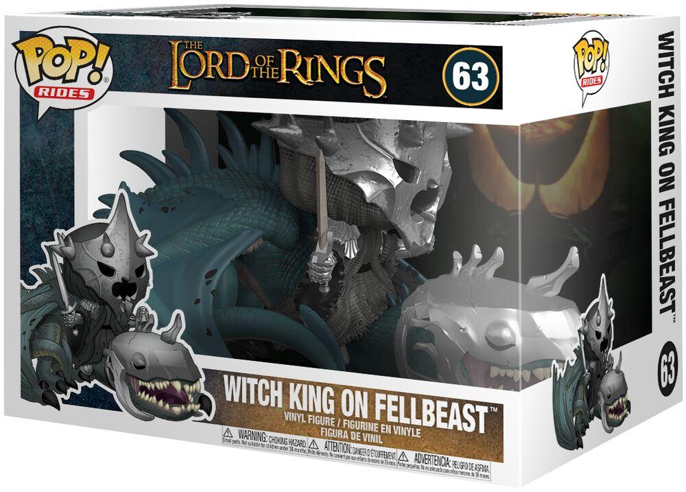 Vinylová figurka č. 63 Witch King on Fellbeast (Pop Rides)