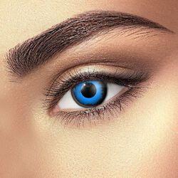 Kontaktní čočky Blue Elf Eye