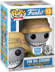 Vinylová figurka č. 12 Fantastik Plastik - Fin Du Chomp (Funko SHop Europe)