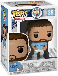 Football Vinylová figurka č. 38 Manchester City - Bernardo Silva