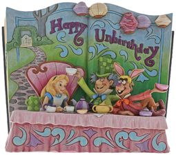 Happy Unbirthday (Figurka s knižkou Alice in WOnderland Tea Party)