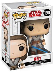 Vinylová figurka s pohyblivou hlavou č. 190 Episode 8 - The Last Jedi - Rey