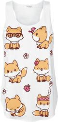 Tílko Cute Fox