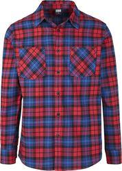 Kostkovaná flanelová košile 5