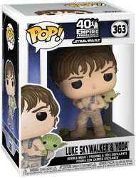Vinylová figurka č. 363 Empire Strikes Back 40th Anniversary -  Luke Skywalker & Yoda