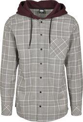 Košile s kapucí Glencheck