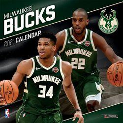 Milwaukee Bucks - kalendář 2021