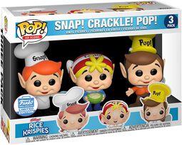 Kellogg's Balení 3 ks figurek Snap Crackle Pop - Rice Krispies (Funko Shop Europe)