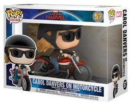 Vinylová figurka č. 57 Carol Danvers on Motorcycle Pop Rides