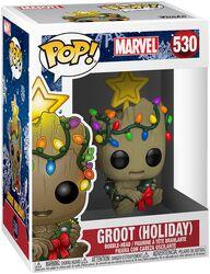 Vinylová figurka č. 530 Groot (Holiday)