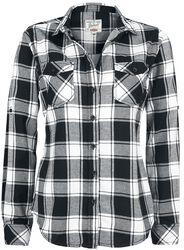 Flanelová kostkovaná košile Amy
